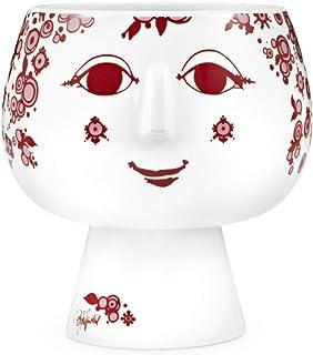 Bjørn Wiinblad 花瓶 红色 18.8x18.2x18.4 55043