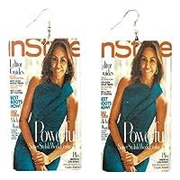 米歇尔和巴拉克奥巴马杂志风格非洲美国历史杂志图像美国*位黑总统#44