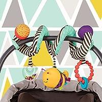 B.Toys 比乐 多功能推车绕铃 益智床铃玩具 床绕床挂 布艺摇铃毛绒  婴幼儿童益智玩具 礼物 0岁+  BX1454Z