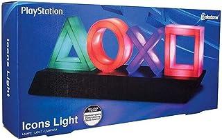 Playstation PP4140PS Nintendo 任天堂图标复古游戏灯 颜色随音乐分段渐变 适合办公或家庭环境 情境夜灯 彩色