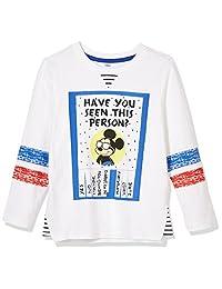 Disney 迪士尼童装 男童 针织长袖T恤 KVM8S1KTKB2006WW