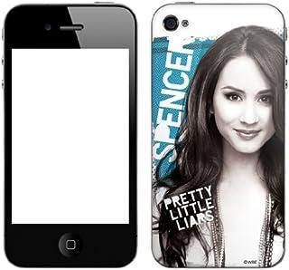 Zing Revolution Pretty Little Liars 优质乙烯基胶粘皮肤,适用于 iPhone 4/4S,Spencer (MS-PLL70133)
