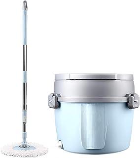 ACC 全新 2 合 1 旋转折叠桶拖把,防溅和耐用专业家居地板清洁套件,适合所有类型的地板,紧凑方便,无需占空间