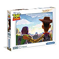 Clementoni 39491 Clementoni-39491-The Art of Collection-Toy Story-1000 零件,多种颜色