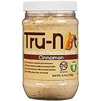 Tru-Nut Powdered Peanut Butter, Cinnamon, 6.7 Ounce