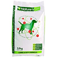 NATURE'SGIFT贵族鸸鹋油高密度营养及皮毛养护羊肉米饭配方成犬狗粮2.5kg