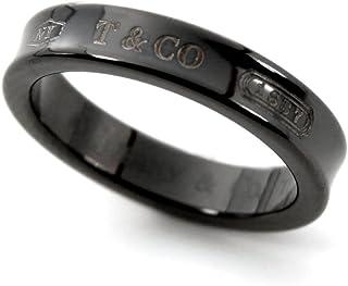[ティファニー] TIFFANY チタン 1837 ナローリング ミッドナイト ブラックチタン 指輪 【並行輸入品】 25923588 日本サイズ7號 (USサイズ4號)