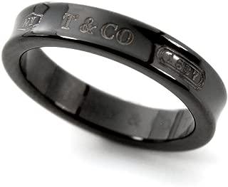 TIFFANY 蒂芙尼 钛金 1837 窄式戒指 午夜黑钛 戒指 25923677 日本