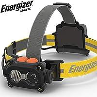 Energizer 硬壳专业坚固 3 LED 前灯,含电池,黑色/灰色
