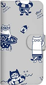 Mitas 手册式 带皮带 运动裤 猫咪 冰感SC-3995-KUJ36/SCV35 3_Galaxy S8 Plus (SCV35) ネコまるけ 冷感 GY