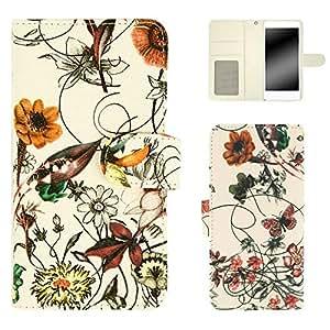 白色边框手机保护壳翻盖式装饰品 五颜六色 3_ Galaxy S7 edge SC-02H Samsung