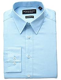 Nick Graham 男式圆点棉质衬衫