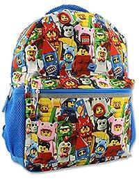 Lego 迷你数字男孩女孩 16 英寸学校背包
