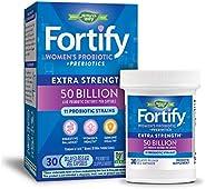 Nature's Way Primadophilus Fortify女性益生菌缓释素食胶囊,500亿活性培养物,不含麸质