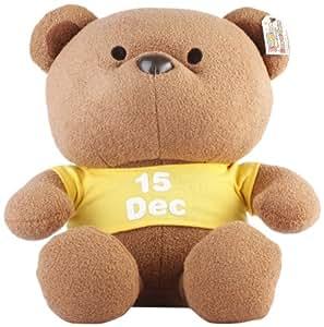 香港UJI 缤纷熊 365天日期生日/纪念日25cm 12月15日