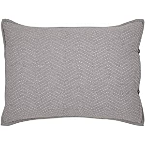 ED Ellen DeGeneres 被套 灰色 15 x 20 Pillow USHSFY1093213