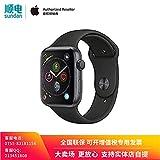 Apple Watch Series 4 MU6D2CH/A 智能手表(GPS 44毫米 深空灰色铝金属表壳 黑色运动型表带)官方授权 全新国行 含税带票 可开专票