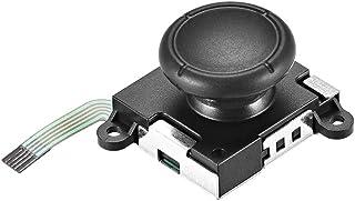 uxcell 模拟 3D 操纵杆 适用于左右 Joy Con 控制器 Black-1pcs a19032800ux0755