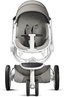 Quinny Moodd婴儿车 具有自动掀起功能 双向推行定位 现代设计 适用于从出生到约3.5岁的宝宝沙砾灰色