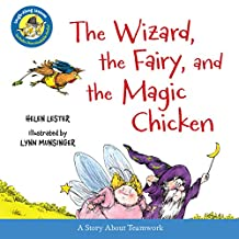 The Wizard, the Fairy, and the Magic Chicken (Laugh-Along Lessons) (English Edition)