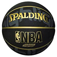 Spalding 斯伯丁)篮球5号球金高亮83–362j