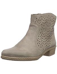 Rieker Y0766,女式高筒靴