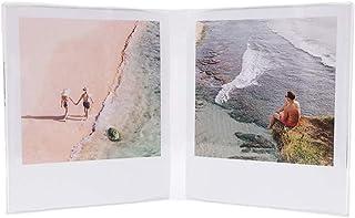 WilsonWares 双偏光相框 适用于 Polaroid Originals – Polaroid OneStep+,Polaroid One Step 2 – Polaroid 相框,适用于 Polaroid 相框,尺寸 4.2 x 3....