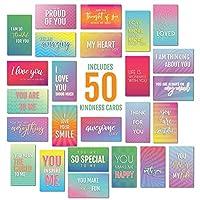 激励和鼓励语录 | 名片尺寸 | 50 张信念和善意记卡 | 5.08 cm x 8.89 cm Set Two