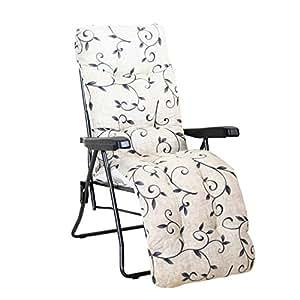greemotion Passau休闲休闲扶手椅,Dessin,钢/聚酯纤维,100x59x97厘米,煤黑色/多色,436170