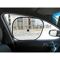 MagiqueW 婴儿车窗遮光帘,汽车遮阳挡紫外线保护儿童宠物家庭-婴儿车侧窗遮阳罩(侧窗)