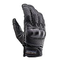 DAYTONA(DAAYTONA) HBG-030 软壳冲孔网眼手套(支持触摸屏) 防护类型 L 黑色 95317