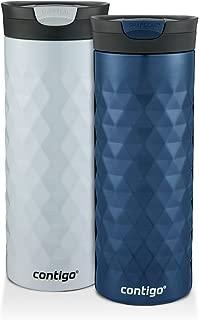 Contigo 康迪克 Kenton SnapSeal 不銹鋼保溫杯2件套 591ml/支