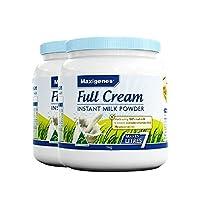 Maxigenes 美可卓全脂高钙奶粉 1kg (两罐价)
