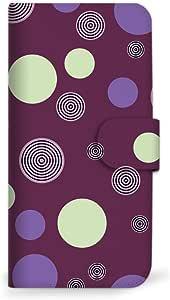 mitas iphone 手机壳109SC-0089-PU/F-11D 5_ARROWS Me (F-11D) 紫色