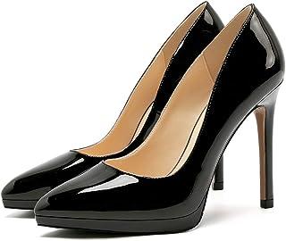 JOY IN LOVE 女式高跟鞋 防水台细高跟 尖头 闭趾 时尚
