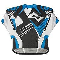 Mots mt2105la try Rider T 恤,藍色,L 碼