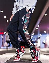 Hooper Homme 2019春季港风原宿ins男士裤子长裤束脚裤bf嘻哈宽松潮流哈伦休闲裤男