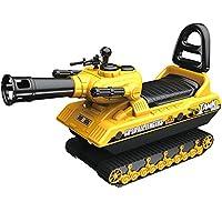 活石 仿真工程车 大号挖掘机可骑可坐挖土机模型儿童玩具挖机 (坦克车经典款)