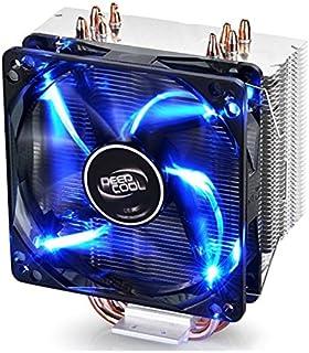 DEEPCOOL CPU Cooler 4heatpipes 120mm PWM 风扇带蓝色 LED 通用插座 MS gammaxx 400 GAMMAXX400 4 Heat Pines