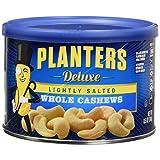 Planters 豪华轻盐整粒腰果,3 支装,25.5 盎司