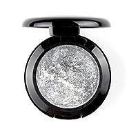 mallofusa 化妆单 baked 眼影 powder 调色板中的微光12金属颜色可选 标准