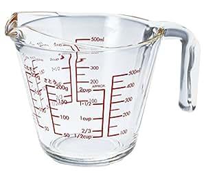 Hario 量杯 透明的 500-ml MJP-500