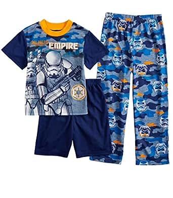 Star Wars 男孩风暴兵 3 件套睡衣套装,尺码 6