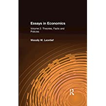 Essays in Economics: v. 2: Theories, Facts and Policies (English Edition)