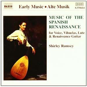 进口CD:文艺复兴时期西班牙音乐 Music of the Spanish Renaissance(CD)8.550614