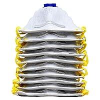 AMSTON 防尘面具,N95 NIOSH 认证(20 个装)个人防护器/PPE 专门为建筑、家庭改造和 DIY 物品而制作的*器 10 pack - P95 Charcoal N95-parent