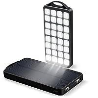 美国ECTechnology移动电源10000毫安LED户外应急太阳能聚合物手机充电宝超薄 10000毫安LED移动电源