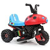 孩子家 儿童电动车 电动摩托车 小孩电动三轮车玩具车 宝宝童车可坐(绿色)