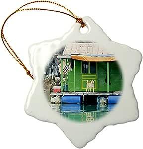 "Danita Delimont - Vietnam - Ha Long Bay, Vietnam - AS38 AWO0000 - Art Wolfe - Ornaments 3"""
