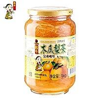 韩今(韩国) 蜂蜜木瓜梨茶1kg(韩国进口)(亚马逊自营商品, 由供应商配送)